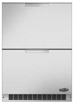 DCS 24 Inch Outdoor Refrigerator Drawers