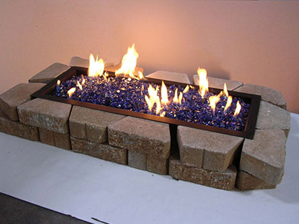 Grand Fire Pits, View 2, by Golden Blount from The Fireplace Man