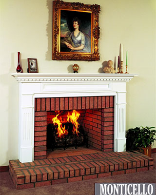 Monticello Fireplace Surround