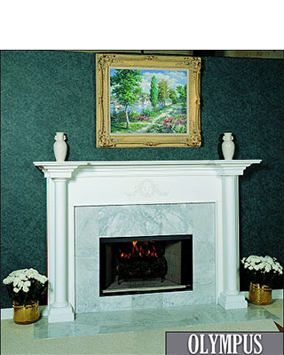 Olympus Fireplace Surround