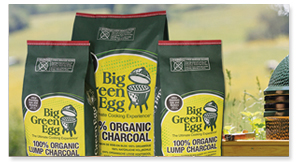 Big Green Egg's 100% Organic Lump Charcoal from The Fireplace Man