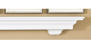 Premier Livingston Mantel Shelf