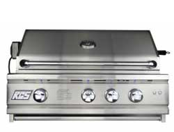 RCS 30 Inch Cutlass Series Stainless Grill with Rear Burner