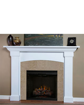 Rosewood Fireplace Surround