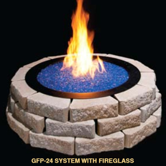 Grand Fire Pits, View 3, by Golden Blount from The Fireplace Man