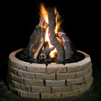 Grand Fire Pits, View 1, by Golden Blount from The Fireplace Man